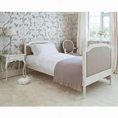 provencal linen single bed bedroom company