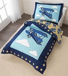 airplane toddler bedding set comforter set with