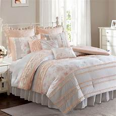 serena ruffle 7 9 pc comforter bed set