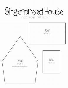 Gingerbread Cookie Template I Knead To Bake Gingerbread Recipe Amp Printable House Template