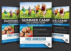 Camp Flyer Template Free Kids Summer Camp Flyer Templates Flyer Templates