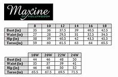 Azul Swimwear Size Chart Swimstyle Fit Guide Size Charts By Brand