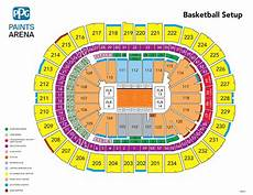 Seating Chart Of Ppg Paints Arena Duquesne Men S Basketball Vs Dayton Ppg Paints Arena