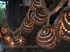 Coconut Shell Lights New Wooden Hanging Lamps From Coconut Shell Asian Night