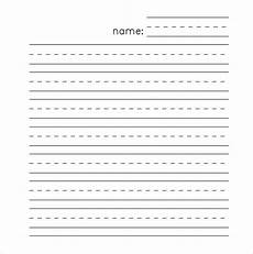 Kindergarten Paper Template 11 Lined Paper Templates Doc Pdf Excel Free
