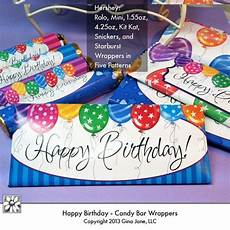 Free Birthday Candy Wrapper Template Printable Happy Birthday Candy Bar Wrappers For Hershey