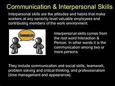 Strong Interpersonal Skills Definition Communication And Interpersonal Skills