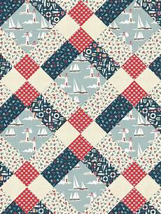 clan pattern from pattern jam using ahoy fabric