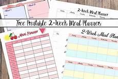 2 Week Meal Planner Free Printable 2 Week Meal Planners 4 Designs