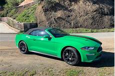 2019 ford convertible 2019 ford mustang ecoboost convertible review strange