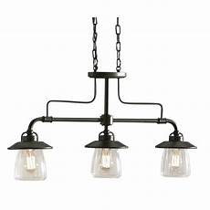 Lowes Overhead Lights Allen Roth Bristow 36 In W 3 Light Mission Bronze