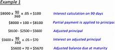 Additional Payments To Principal Calculator Calculate A Partial Payment On A Simple Interest Loan