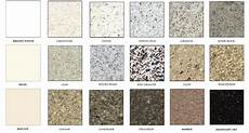 Granite Color Chart Bathtub Reglazing Counter Top Refinishing And Ceramic