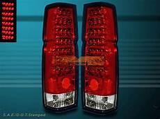 Nissan Hardbody Clear Lights For 1986 1997 Nissan Hardbody Pickup D21 Red Clear Led