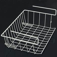 kitchen shelf storage wire rack holder basket space