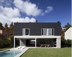 Minimalist Home House Dv Modern Minimalism Draped In Concrete And Steel