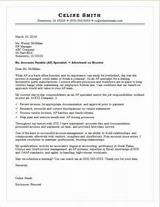 Accounts Payable Cover Letters Accounts Payable Cover Letter Sample Monster Com