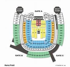 Pittsburgh Steelers Stadium Seating Chart Heinz Field Pittsburgh Pa Seating Chart View