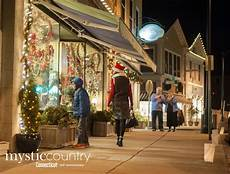 Of Lights 2018 Ct Downtown Holiday Stroll Amp Luminaria 2017 In Mystic Ct