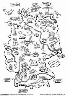 Malvorlagen Kinder Grundschule Deutschlandkarte Deutschland Schule Deutschlandkarte