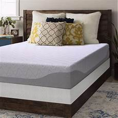 shop 9 inch gel memory foam mattress and bi fold box