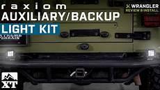 How To Make Reverse Lights Flash Jeep Wrangler Raxiom Auxiliary Backup Light Kit 1987 2018