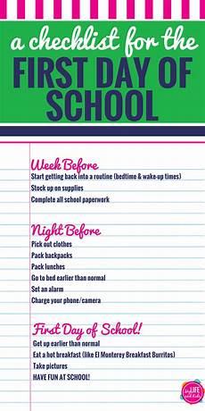 Tips For High School Freshman How To Have A Great First Day Of School Life Hacks For