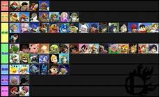 Super Smash Bros Character Chart Pro S Mu Charts Compilation Smashbros