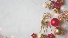 Blank Christmas Christmas Decorations And Blank Space Stock Footage Video
