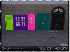 Mega Doors at SrslySims » Sims 4 Updates