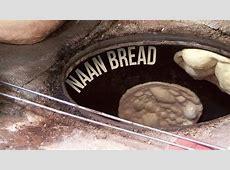 Naan Bread in Tandoor Oven   Indian Street Food Old Delhi