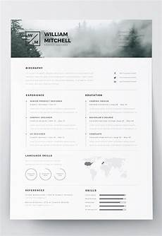 Resume Template Illustrator 7 Free Editable Minimalist Resume Cv In Adobe Illustrator