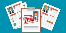 Definition Of Exempt Employees Exempt Vs Non Exempt Employees Guide To California Law