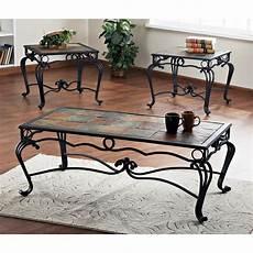 Cf Furniture Living Room 3 Set L Table by Set Of 3 Verona Slate Tables 144980 Living Room