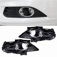 2013 Ford Fusion Fog Lights Fog Light Lamp Grill Grille Cover Trim Fit For Ford Fusion