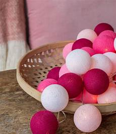 Pink Cotton Ball Lights Cotton Ball Lights In The Box Pink Cotton Ball Lights