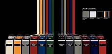 Bmw Mini Colour Chart Colors Library Of Motoring An Online Collection Of