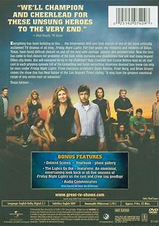 Friday Night Lights Season 1 Blu Ray Friday Night Lights The Fifth And Final Season Dvd 2010