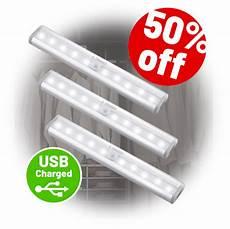 chargy stick on anywhere portable motion sensor light in