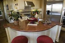 granite kitchen islands with breakfast bar 35 curved kitchen island ideas photos