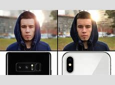 Camera comparison: Apple's iPhone X vs. Samsung's Galaxy