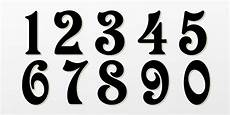 Fonts For Numbers 10 Number Script Fonts Images Cursive Script Fonts