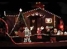 Wizards In Winter Christmas Lights House Christmas Lights Wizards In Winter Youtube