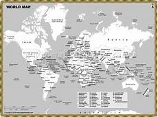 World Map Black And White Printable With Countries Printable World Map With Countries Labeled Pdf World