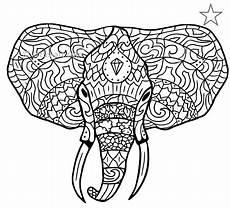 Malvorlagen Elefant Pdf Elefant Ausmalbild