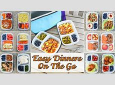 Easy Prepared Meals to Go for Busy Moms and Kids