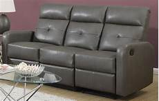 Gray Reclining Sectional Sofa 3d Image by 85gy 3 Charcoal Gray Bonded Leather Reclining Sofa From