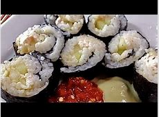 Easy Homemade Sushi Rolls (Philly Roll)   YouTube