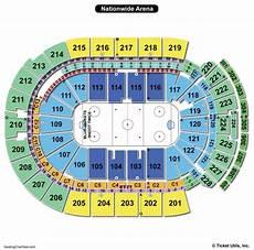 Usair Arena Seating Chart Nationwide Arena Seating Chart Seating Charts Amp Tickets