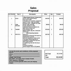 Proposal Sales 20 Sample Sales Proposal Templates Pdf Word Psd